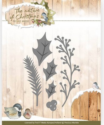 Die - Precious Marieke - The Nature of Christmas - Christms Floral