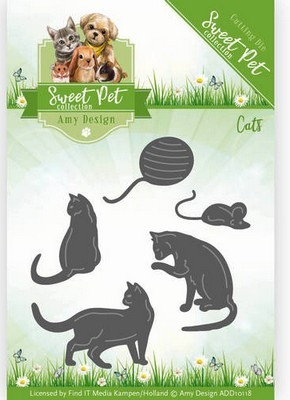 Die - Amy Design - Sweet Pets - Katten