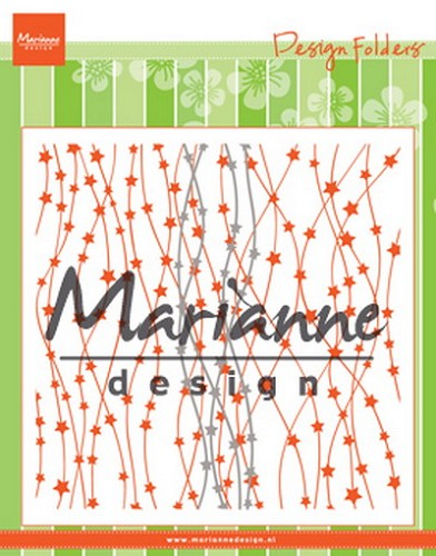 Marianne D. Design Folder extra - Hemelse sterren