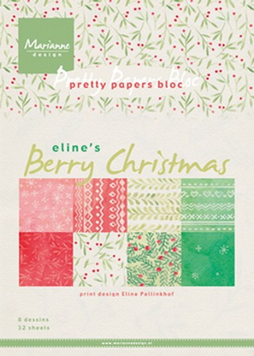 Marianne D. Pretty Papersbloc - Berry Christmas