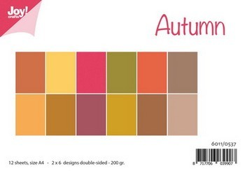 Joy! Papierset Matching colors uni - Autumn