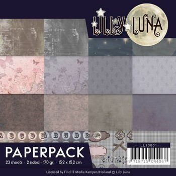 Paperpack - Lilly Luna - Beautiful in Pink