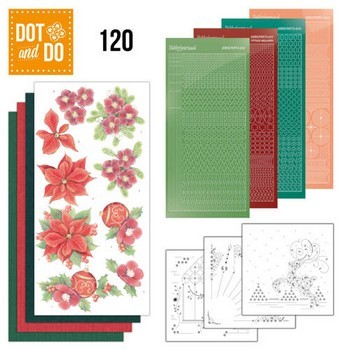Dot & Do 120 - Jeanine`s Art- Kerstbloemen