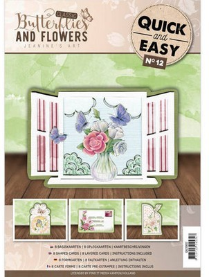 Quick and Easy 12 - Classic Butterflies & Flowers