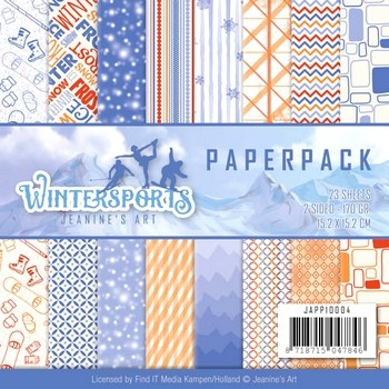 Paperpack- Jeanine`s Art - Wintersports