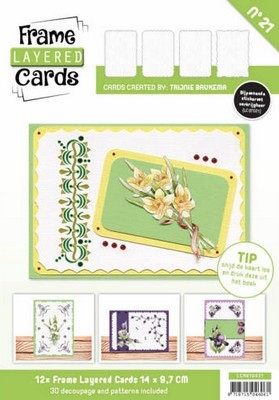 Frame Layered Cards nr. 21 - Rechthoekig A6