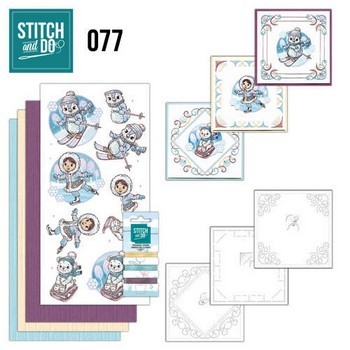 Stitch and Do 77 - Winter Fun (Winterpret)