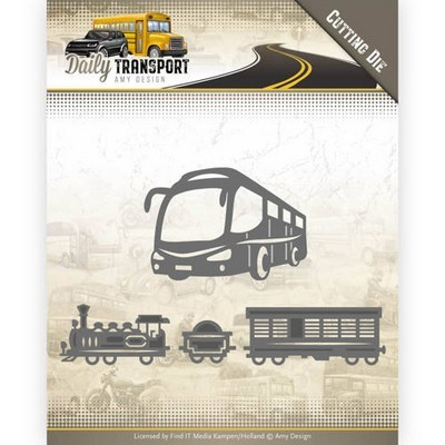 Die Amy Design- Daily Transport -Public Transport