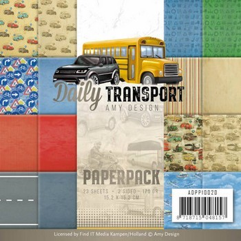 Paperpack - Amy Design- Daily Transport - Personenauto`s