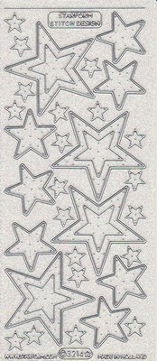 Starform Glitter Stickers - Sterren