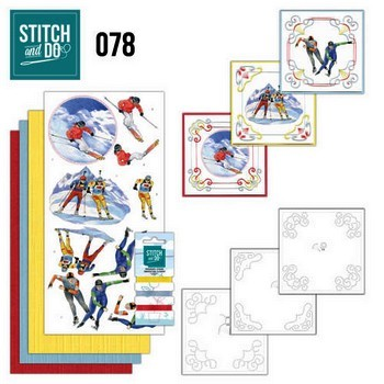 Stitch and Do 78 - Jeanine`s Art - Wintersport