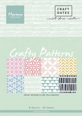Marianne D - Paper pad Crafty Patters A5