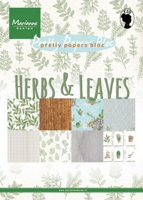 Marianne D - Pretty Papers - Herbs & Leaves