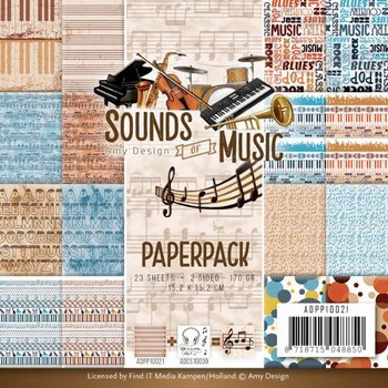 Paperpack Amy Design - Sounds of Music