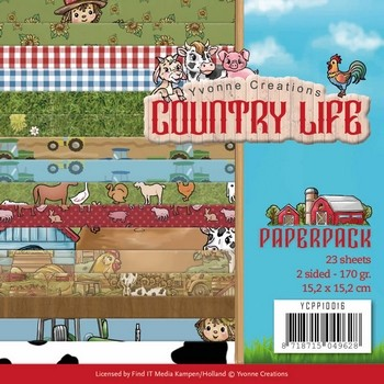 Paperpack - Yvonne Creations - Country Life