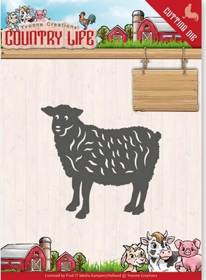 Dies - Yvonne Creations - Country Life - Schaap