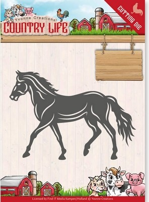 Dies - Yvonne Creations - Country Life - Paard