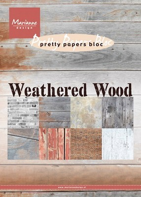 Pretty Papers - Marianne D. - Weathered Wood (verweerd hout)