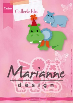 Marianne D. Collectables - Eline`s Happy Hippo