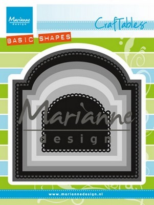 Marianne Design Craftable stencil Basic boog