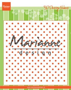 Marianne D. Embossing Folder - Polka Dots