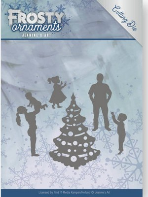 Dies Jeanine`s Art - Frosty Ornaments - Happy Family