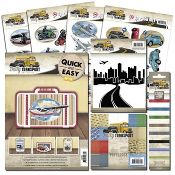 Amy Design Actieset - Daily Transport