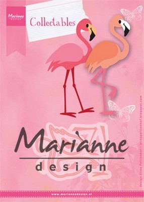 Marianne D. Collectable Flamingo