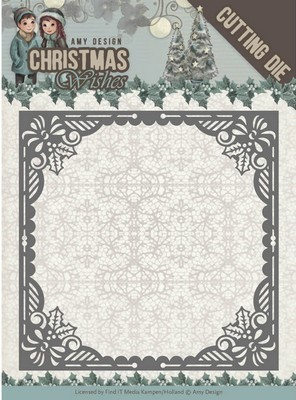 Dies - Amy Design - Christmas Wishes - Baubles Frame
