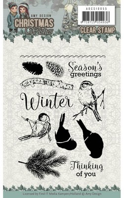 Clearstamps - Amy Design - Christmas Wishes