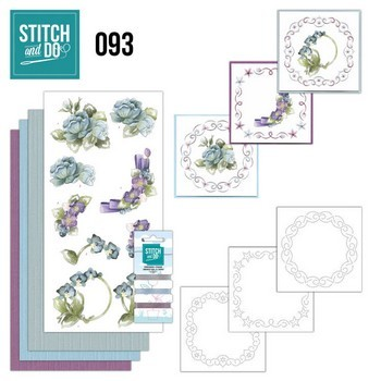 Stitch & Do 93 - Winterflowers  (Winterbloemen)