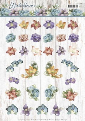 Knipvel Precious Marieke - Winter Flowers - Mini