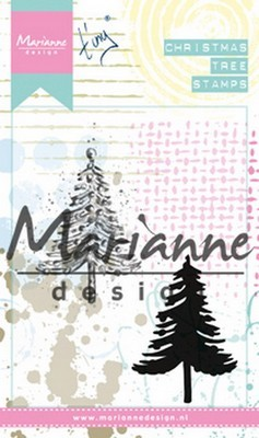 Marianne D. Cling Stamp - Tiny`s Kerstboom