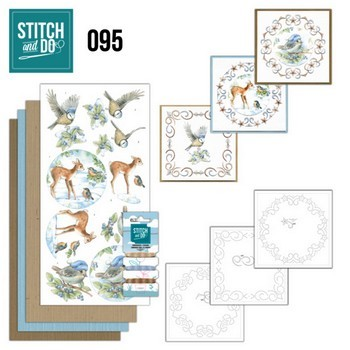 Stitch & Do 95 - Winter Woodland