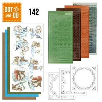 Dot & Do 142 - Winter Woodland (Winters Bos)