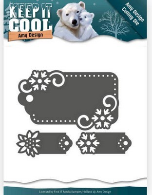 Dies Amy Design - Keep it Cool - Cool Tags