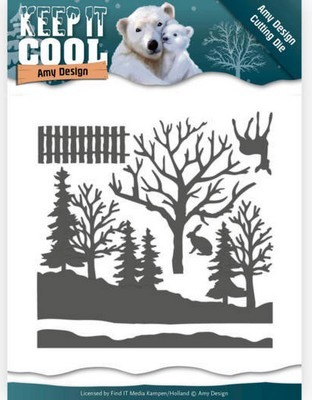 Dies Amy Design - Keep it Cool - Cool Forest