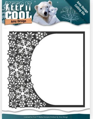 Dies Amy Design - Keep it Cool - Cool Rounded Frame