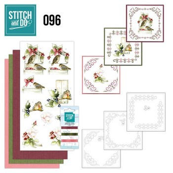 Stitch & Do 96 - Winter Birds (winter vogels)