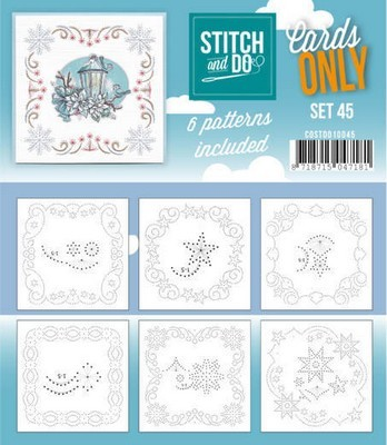 Stitch & Do Cards Only - set 45