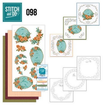 Stitch & Do 98 - Floral Birdcages
