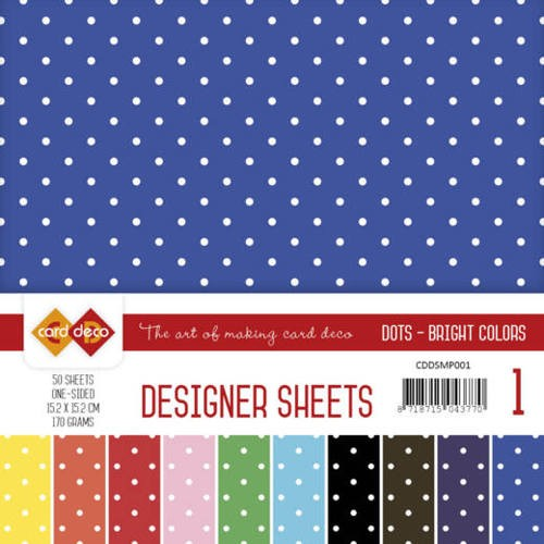 Designer Sheets Mega Pack 1 - Stippen - Bright Colors