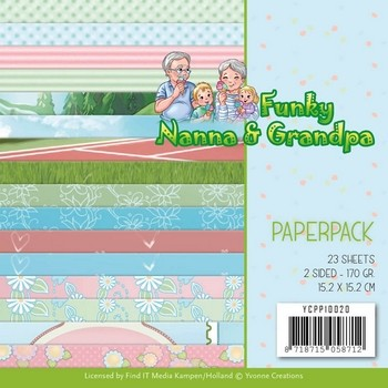Paperpack - YvonneC - Funky Nanna`s