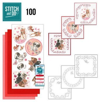 Stitch & Do 100 - Playful Pets