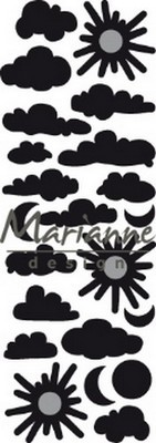 Marianne Design Craftables - Wolkjes