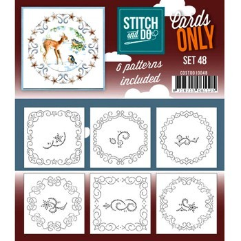 Stitch & Do Cards Only - Set 48