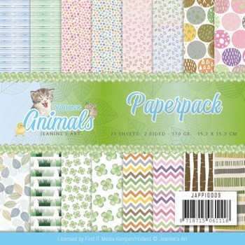 Paperpack Jeanine`s Art - Young Animals