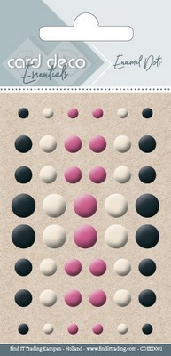 Card Deco Essentials - Enamal Dots - Assorti