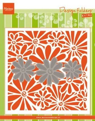 Marianne D. - Embossing Folder - Extra madeliefjes