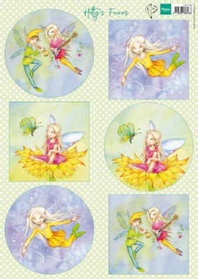 Marianne D. - Knipvellen - Hetty`s Fairies